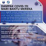 ARM HA IPB Galang donasi untuk wabah Covid-19