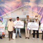 ARM HA-IPB Bagikan 350 Paket Lebaran untuk Masyarakat Kecil