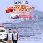 Layanan Ambulans Alumni IPB